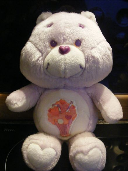 "VINTAGE 12"" SHARE CARE BEAR 80S CARE BEARS"